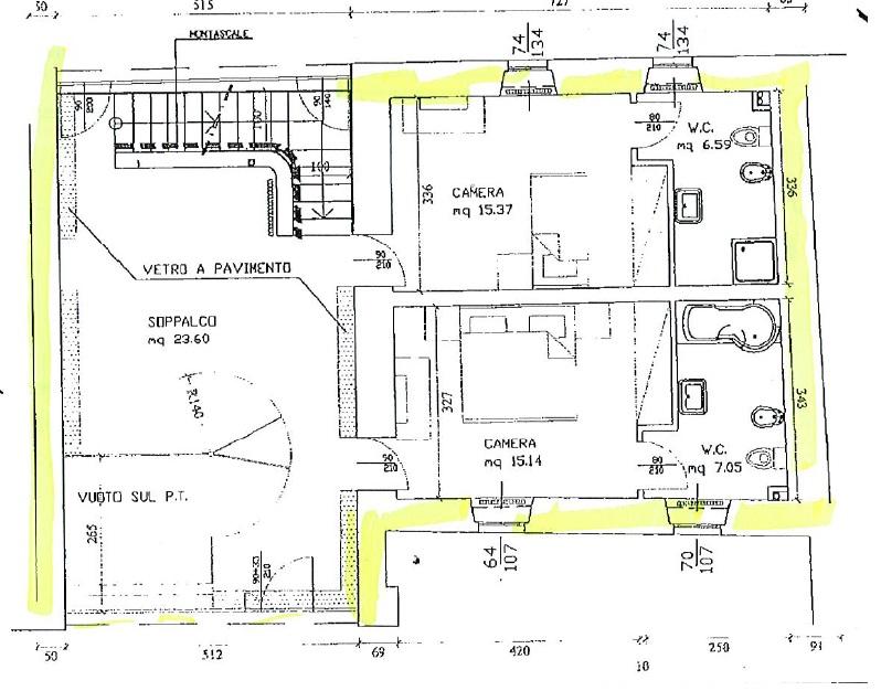 Csi7 casa semi indipendente in vendita a collecchio pr for Planimetrie vista montagna