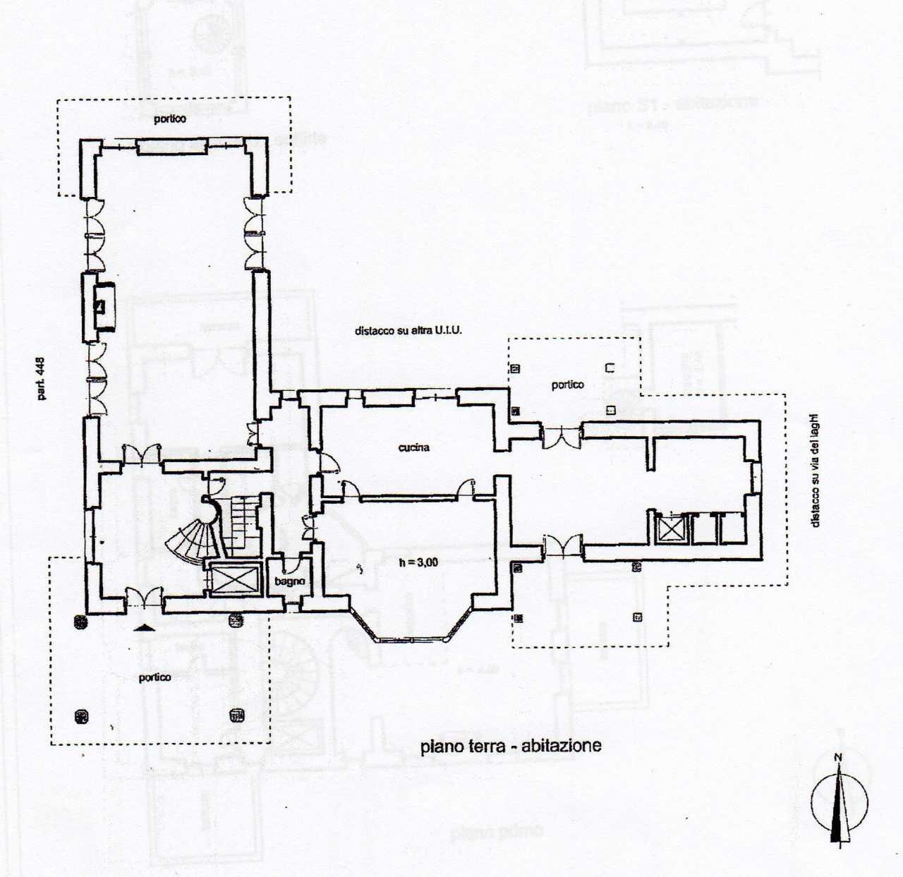 2578 villa in vendita a marino rm ville casali for Planimetrie vista montagna